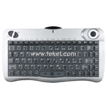 infrared keyboard with trackball KVCOM, full-size multimedai keyboard, fantastic operation, customized receiver