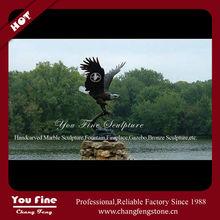 Flying Eagle Bronze Sculpture For Sale