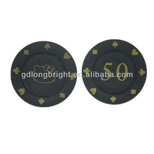 7.2G Professional custom logo Poker Chips