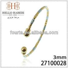 Gold And Platinum Bangles 27100028
