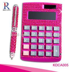 Wholesale Bling Mini Pincess Calculator for Desktop Gift