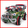 new product Kid rc toy cars for children rc Jeep 6868 RC Ride on Jeep huada