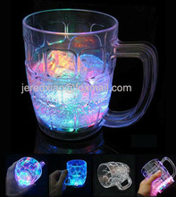 LED Flashing Beer Glass/Mug