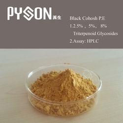 100% natural Black Cohosh Extract Triterpenoid saponis