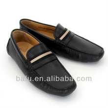 designer trendy soft leather loafers mens shoes 2013