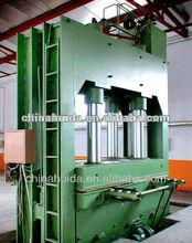 JIN LUN hydraulic cold Press Machine for Making Plywood/ block board / bamboo plywood
