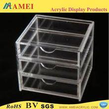 2013 clear plexiglass jewelry storage drawers for promotion