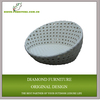 synthetic rattan outdoor round lounge chairs