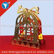 custom embossed snowflake ornaments 3D wholesale metal merry christmas gifts