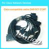 10FT Cisco CAB-OCT-X21MT 8 lead octal cable