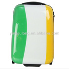 trendy vintage suitcase and travel bags abs pc custom trolley luggage hard case 20 24 28 inch