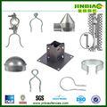 verzinkt pvc beschichtet oder runde metall zaunpfosten cap
