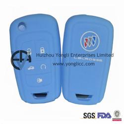 Embossed Logo Silicone Hyundai Key Case