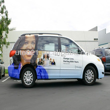 Customized Vehicle Wrap(with printed picture which you've designed)