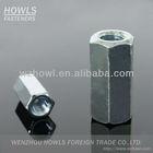 DIN6334 Carbon steel hex round coupling nut