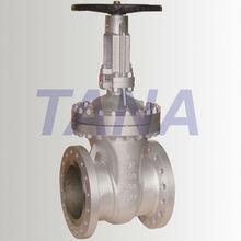 gear operated API cast steel gate valve