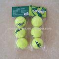 De alta qualidade do gramado da esfera de tênis macio para atacado tipos de bolas esportivas