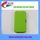 Green Color PC +PU Cover Galaxy S4 Case i9500 Cover