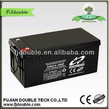 maintaince free lead acid battery 12V 200Ah solar battery