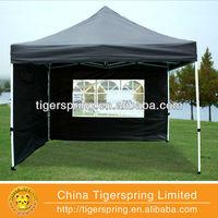 Black 10'x10' Pop up Tent with 4 sidewalls G Model