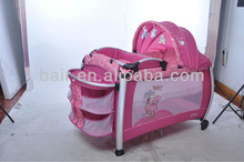 2014 New Aluminum Baby Playpen/Play Yard/Bed