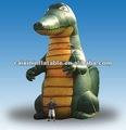 Personalizado jacaré inflável / inflável de alta qualidade jacaré balão / inflável da mascote jacaré para publicidade