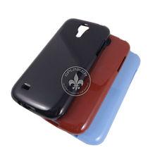 Fashion Single Color Glossy Sample TPU Back Cover For Samsung Galaxy S4 Mini/I9190/I9192/I9195 T7605-53