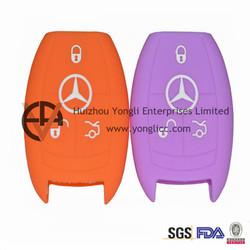 Embossed Logo Silicone Hyundai Car Key Case