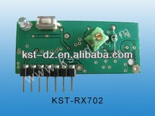 rolling code wireless Supergeneration receiver module KST-RX702