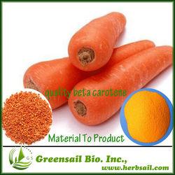 2013 ISO Factory supply Natural and Organic Beta Carotene