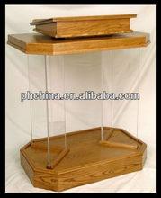 Acrylic Lectern & Platform,Perspex Podium,Lucite Dais & Pulpit