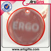 Round shape reflective key tags for promotion