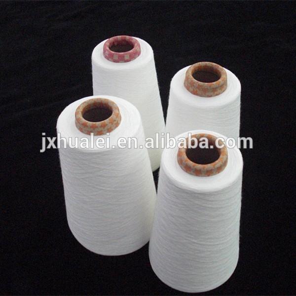 100 polyeyester tops spun yarn and china