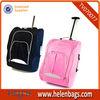 Travel Flight Hand Lugga Cabin Bag Suitcase Holdall On Wheels Black