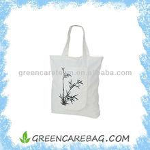 Biodegradable Natural Foldable Bamboo Fibre Non Woven Tote Bag