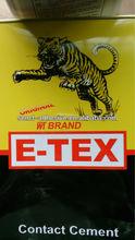 WT BRAND E-TEX Contact Adhesive