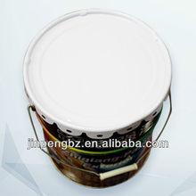 colored painting 20l metal paint pail wholesaler with lid