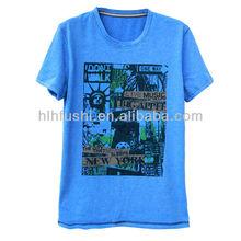 2013 fashion o-neck mens tshirts with printing