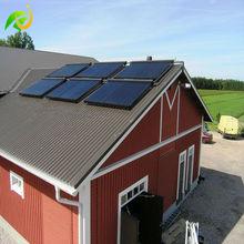 200 -1000L split pressurized solar water heater for EU Russia US Canada villa use