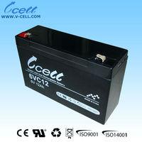 6V 10Ah first power battery