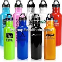 Eco-Friendly 25oz stainless steel sports bottle,750ml stainless steel water bottle,bpa free stainless steel water jug
