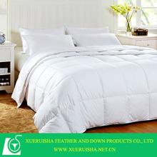 100% cotton duck down quilt,warm quilt