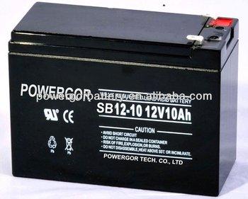 12v 10ah AGM Acid Electric Vehicle battery