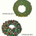 Guirnalda de la navidad ornamento