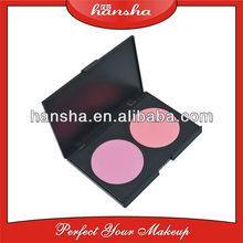 Professional 2 Color Blush Palette, Face Glitter Blush Cosmetics