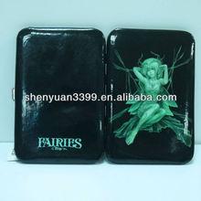 metropolitan designer name card holder soft cartoon characters silkscreen print pvc high-end burse