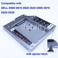 laptop 2nd hard disk drive hdd caddy for Dell D600 D610 D620 D630 D800 D810 D820 D830