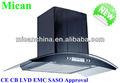 De acero inoxidable cocina extractor de humos/montaje en la pared europea ventilador de aire