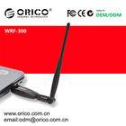 ORICO 300M USB 2.0 Wireless Adapter WiFi LAN IEEE 802.11b/g/n with Antenna,300Mbps WIFI USB adapter