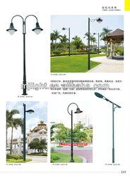 Outside LED Garden Lamp Post lighting